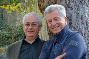 Tom Pauls und Peter Ufer Foto: Johannes Dose